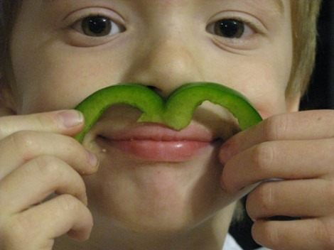 green pepper mustache