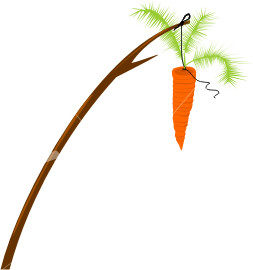 dangle carrot