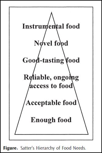 Satter hierarchy of food needs
