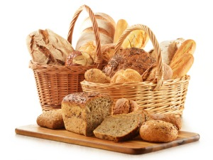 basket bread